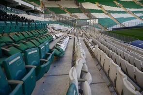 Bursa Büyükşehir Belediye Stadı'nda 1.5 milyon liralık hasar!