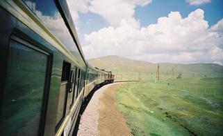 Dünyanın en uzun tren yolculuğu Trans-Sibirya