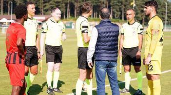 Gazişehirin hazırlık maçı yarıda kaldı Rakip 2. yarıya çıkmadı...