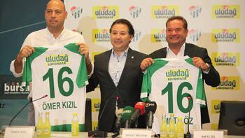 Uludağ Limonata Bursaspor'a sponsor oldu