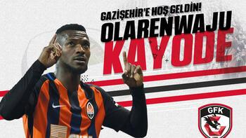 Gazişehir Gaziantepe Nijeryalı golcü