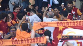 Galatasaraylı taraftarlardan 3 dakika süren sessizlik