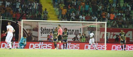 Alanyaspor-Fenerbahçe maçında kural hatası tartışması!