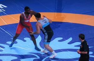 Rıza Kayaalp'in Dünya Şampiyonu olduğu final maçından görüntüler!