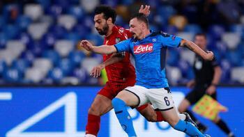 Son Şampiyon Liverpool'a Napoli şoku!