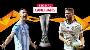 Beşiktaş'ın rakibi Slovan Bratislava! Canlı bahis heyecanı Misli.com'da