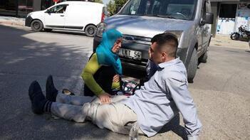 Kaza yaralanan gencin 'anne' feryadı!