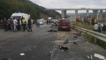 Kuzey Marmara Otoyolu'nda kaza! Ölü ve yaralı var