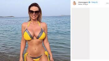 Rhian Sugden Türkiye'den vazgeçemiyor!