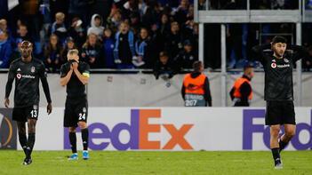 Beşiktaşın savunması düştü