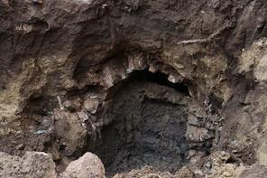 Apartmanın altından Osmanlı tüneli çıktı!
