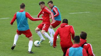 Sivasspor, Trabzonspor maçı hazırlıklarına devam etti