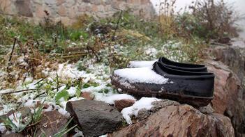 Rize'den sonra şimdi de Ardahan! Kış geldi