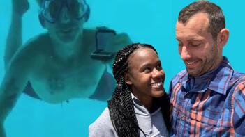 Su altında evlilik teklif ederken boğuldu!