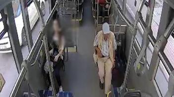 Otobüste bayılan yolcuyu, sürücü hastaneye götürdü