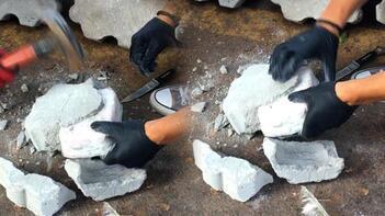 Türkiye'de ilk kez oldu! Taşlar kırılınca içinden bakın ne çıktı?