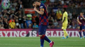 Barcelona'dan Messi açıklaması