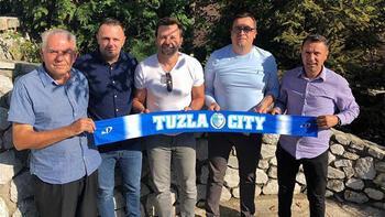 Elvir Balic'in yeni adresi Tuzla