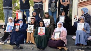 HDP önündeki eylemde 40'ıncı gün