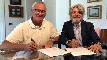 Sampdoria, Claudio Ranieri ile anlaştı