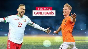 Belarus-Hollanda maçının canlı bahis heyecanı Misli.com'da