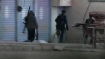 Resulayn'daki teröristlerin çekilme anları böyle görüntülendi