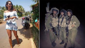 İsrailli kadın asker iki ülke arasında kriz yarattı!