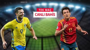 İsveç-İspanya maçına Misli.com'da canlı oyna
