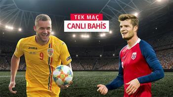 Romanya - Norveç maçı canlı bahis heyecanı Misli.com'da