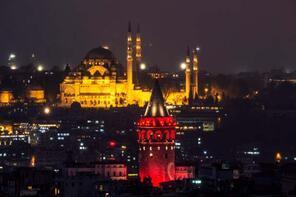 Gücün simgesi Süleymaniye Camii
