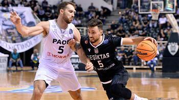 Beşiktaş galibiyetle başladı: 60-69