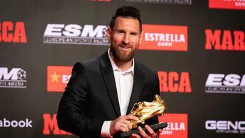 Messi 6'ncı kez Altın Ayakkabı'nın sahibi