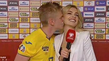 Zinchenko, öptüğü spikerle evleniyor