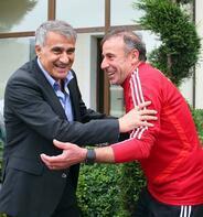 Şenol Güneş'ten Abdullah Avcı'ya sürpriz ziyaret!