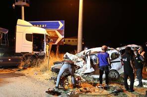 Tunceli'de çok feci kaza: 4 kişiye mezar oldu