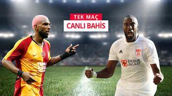 Galatasaray - Sivasspor maçının canlı bahis heyecanı Misli.com'da