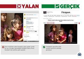 """Harekat aleyhine """"savaştan etkilenen çocukların"""" fotoğraflarıyla manipülasyon"""