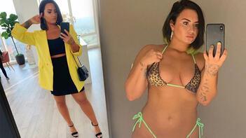 Demi Lovato'nın özel fotoğrafları sızdırıldı!