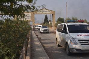 Teröristler, Rasulayn'dan Kızılhaç ambulansları ve sivil araçlarla kaçıyor