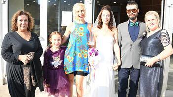 Zeynep Casalini kızını evlendirdi
