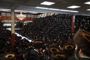 Satmar Yahudileri Sukkot bayramını kutladı