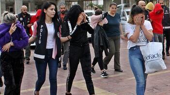 Alanya'da fuhuş baskını! İkisi küçük yaşta 4 kadın