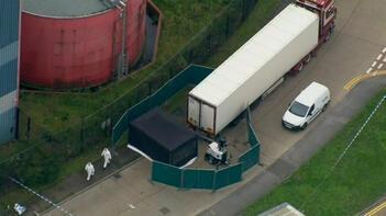 Son dakika... Korkunç olay! İngiltere'de bir kamyonda 39 ceset bulundu