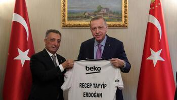Ahmet Nur Çebi ve yönetim kurulundan Erdoğan'a ziyaret
