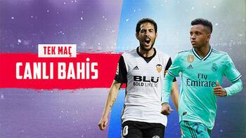 Valencia-Real Madrid maçı canlı bahisle Misli.com'da