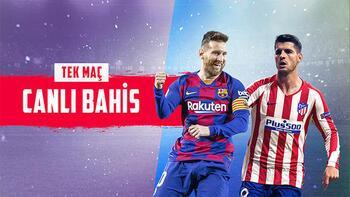 Barcelona-Atletico Madrid heyecanı canlı bahisle Misli.com'da