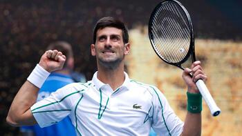 Avustralya Açık'ta Djokovic tam gaz