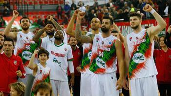 Pınar Karşıyaka'da çeyrek final sevinci