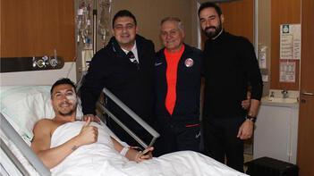 Antalyaspor'da Adis Jahovic 4-6 hafta sahalardan uzak kalacak