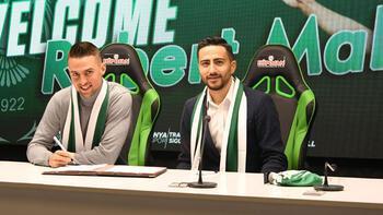Transfer haberleri | Konyaspor'da Robert Mak imza attı
